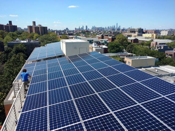 Brooklyn solar installation