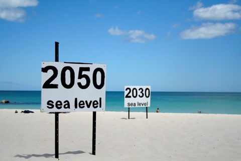 Sea level rise estimates in Perth, Australia