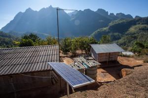 Solar panel in Chiang Mai, Thailand