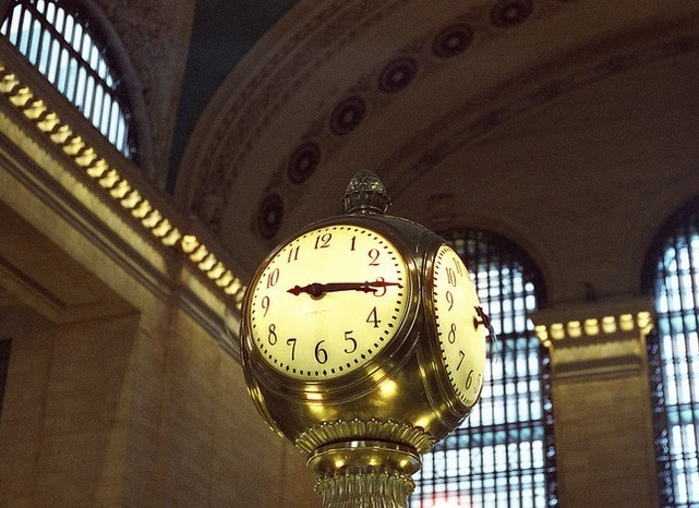 Grand Central Terminal clock in New York City