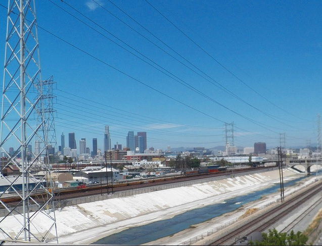 Los Angeles electric grid