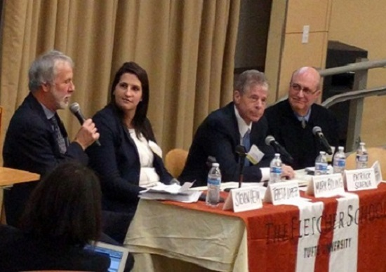 Tufts Energy Conference panel on carbon pricing