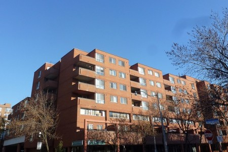 Apartment building exterior