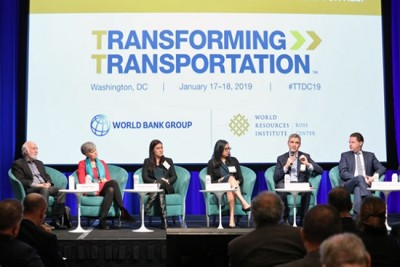 Transforming Transportation conference panel