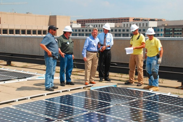 Department of Energy - Looking at solar panels