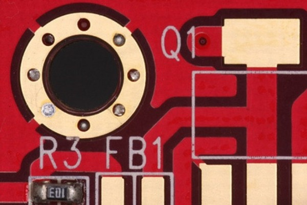 Electronics circuit board detail