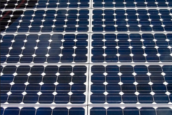 Solar Panels close up