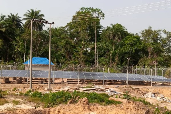 A minigrid using solar shines via Nigeria's initiative